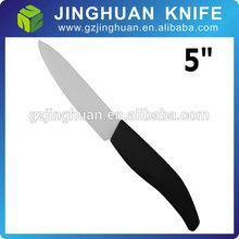"""5""""pollici lama di coltello di ceramica bianca ultra nitide da cucina lo chef posate coltello zirconia bianco ceramica chef's coltello"""