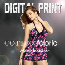 Silk Fabrics machine Textile Digital Printing print cotton twill S137