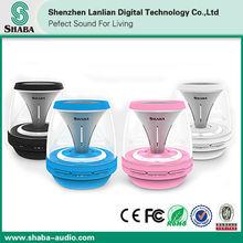 Best Combination of Sound and light: Shaba bluetooth portable fm radio usb sd card reader speaker VS-18