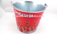 5L metal tin beer ice bucket