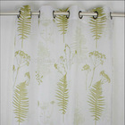 100% polyester plain home decoration printed voile sheer fabric for curtains