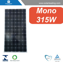 MCS approved 315w thin film solar panels with solar cells wholesale for grid tied solar system