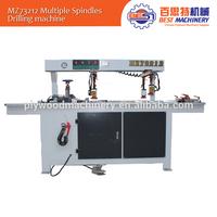 Horizontal wood drilling machine