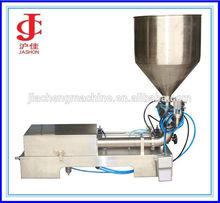 Semi automático loción de calamina pasta / botella de líquido máquina de llenado de pistón