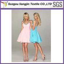Colourful Tie Dye Chiffon Fabric For Evening Dress