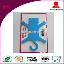 2014 creative novelty multifunctional cat shape bicycle silicone mobile phone holder