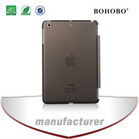 Ultra-thin Matte Back Cover PC Clear Hard Skin Case for Ipad mini
