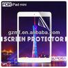 clear screen guard for ipad mini screen protector OEM/ODM