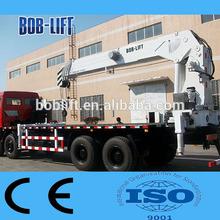 china marca famosa 16 ton telescópica boom caminhão montado guindaste chinês sq16sa5 máquinas