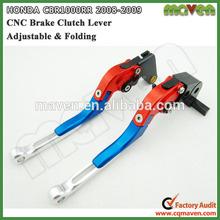 CNC Folding Brake Clutch Levers For Honda CBR600RR 07 08 2009 10 11 12 2013 2014