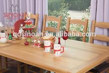 Solid oak new design 2.5m dining table/dining room furniture/EL25T