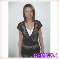 New Product OEM No1 lace fabric sexy design fashion woman ropa clothes