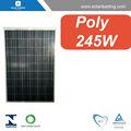 Venta caliente 245w 27v panel solar precio por vatio conectarse a la red- atadainversor solar para el hogar de cuadrícula corbata solar energy systems