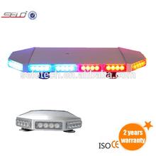 LED mini lightbar, aluminum alloy board, many flash patterns