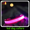 2014 hot sell Pet Dog Safety lighting led dog collar Necklace For Dogs made in china