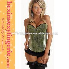 wholesale hexin satin open hot sex women photo corset lingerie