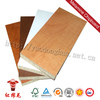 Fire retard 18mm laminated pvc plastic melamine faced chipboard price kitchen cabinets furniture grade sheet