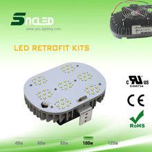retrofit fixtures Power Supply 100w IP65 led lighting / led retrofit kit series TUV&UL passed
