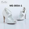 2014 wedding shoes with hand beading fashion style