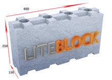 New ! CLC Liteblok , Interlocking Cellular Light weight Concrete Blocks mold for making hollow blocks(600*250*125)