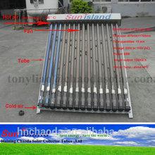 open vacuum tube solar air heater whatsapp 0086-18969318008
