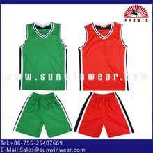 cheap reversible basketball jerseys/uniform