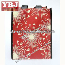 wholesale recyled eco friendly fashional Reusable cheap supermarket non woven grocery bag for promotion