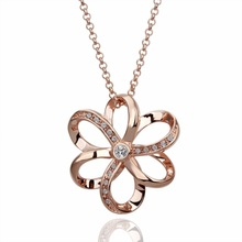 golden gold flower necklace collare