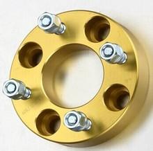 4X100 thread aluminum gold wheel spacer for VW
