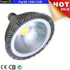 110v, 220v input RGB 15w cob led par38 bulb