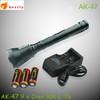 wholesale alibaba AK 47 waterproof military equipment heavy led flashlights