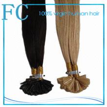 Pre bonded hair extension, U-tip hair,fashion new u-tip hair /single indian remy nail hair extension