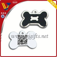 2014 New design unique silicone with aluminium pet tags