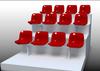 Best sold With Medium Back Fixed Seat Plastic Stadium Seat