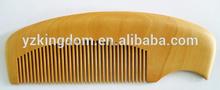 Nature wood comb
