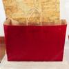 Five star coated paper apparel packaging bag