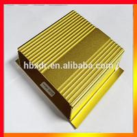 Anodized CNC waterproof aluminum electronic & instrument enclosures