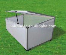 aluminum material frame green house