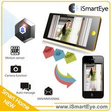 security door electronic peephole wifi video door phone wireless solar doorbell long distance cordless phone