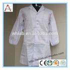 2014 fashionable customized white lab coats