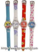 New Design Children Plastic Quantum Watch