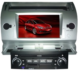 China supplier Built-in FM/AM citroen c4 car dvd player with gps navigation and bluetooth