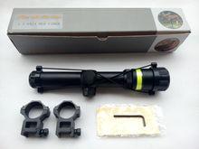 High quality long eye relief fiber riflescope red dot sight