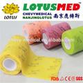 2014 caliente de la venta de loto nanjing práctico cinta cohesivo vendaje( aprobado por la ce) cosmética crema espátula de colostomía bolsa precio