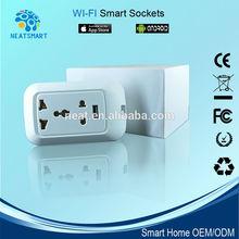 UK wireless plug with 3 pin ,Wireless wifi plug for home automation