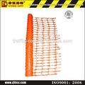 polietileno de alta densidad de color naranja plalstic malla de red de seguridad de la cerca