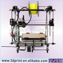 2014 hot sale high quality prusa mendel i2 3d printer use ABS filament large 3d printer