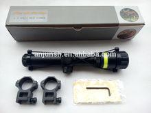 High power 1.5-6X24 fiber tactical riflescope
