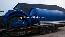 green energy high profits popular used tire pyrolysis oil machine