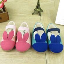 TS2087 hefei zhijing Cartoon rabbit female children's shoes hot style vertical rabbit ears child single shoes wholesale online